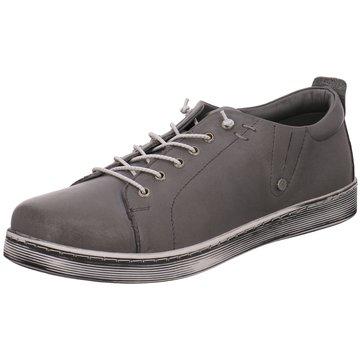 Esgano Komfort Schnürschuh grau