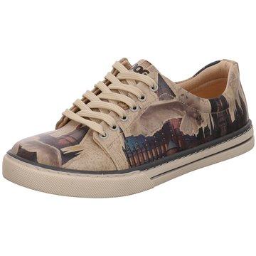 Dogo Shoes Sportlicher SchnürschuhGryffindor Gang beige