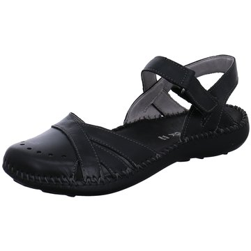 Free Walk Komfort Sandale schwarz