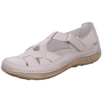 Free Walk Komfort Slipper weiß