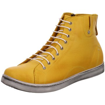 Andrea Conti Komfort Stiefelette gelb