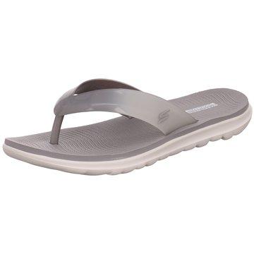 Skechers Bade- Zehentrenner grau