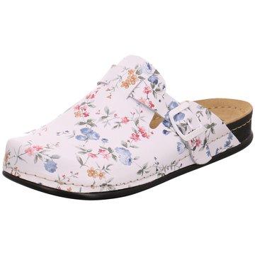 Dr. Feet Hausschuh weiß