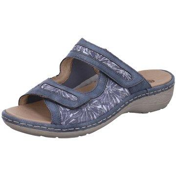 Remonte Komfort SandaleD76 blau