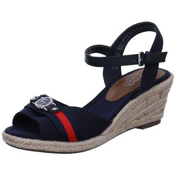 Supremo Espadrilles Sandalen blau
