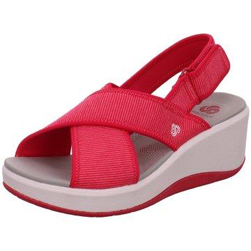 Clarks Komfort SandaleCloudstepperStep Cal pink