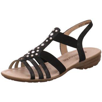 Remonte Sandale schwarz