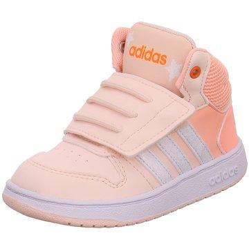 adidas Kleinkinder MädchenHOOPS MID 2.0 I rosa