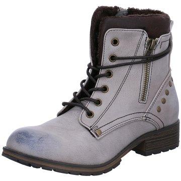 BM Footwear Halbhoher Stiefel weiß