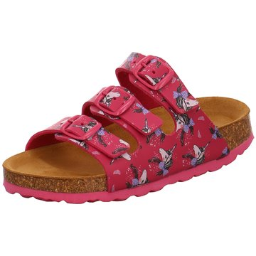 Bio Life Offene Schuhe pink