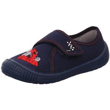 Fischer Schuhe HausschuhRennauto blau