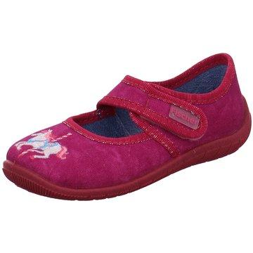 Fischer Schuhe HausschuhPferd pink