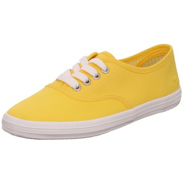 Tom Tailor Sneaker Low gelb