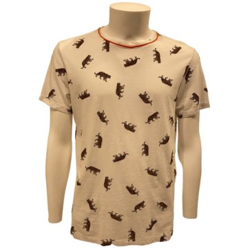 Imperial T-Shirts print beige