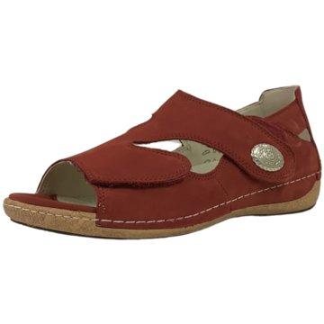 Waldläufer Komfort SandaleSandale rot