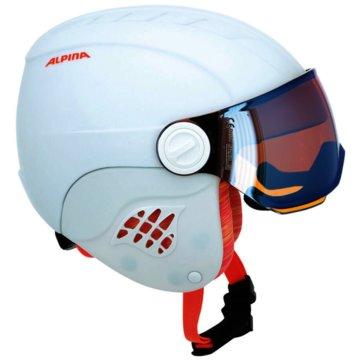 ALPINA SkihelmeCARAT LE VISOR HM - A9084-15 weiß