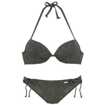 Lascana Bikini TopsPUSH-UP-BIKINI - 98374467 oliv