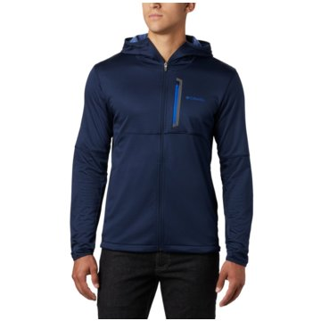 Columbia Funktions- & OutdoorjackenTECH TRAIL FZ HOODIE - 1883331 blau