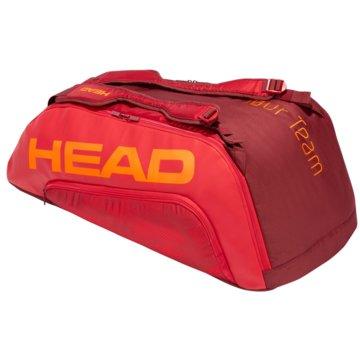 Head SporttaschenTOUR TEAM 9R SUPERCOMBI - 283171 rot