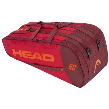 Head SporttaschenCORE 9R SUPERCOMBI - 283391 rot