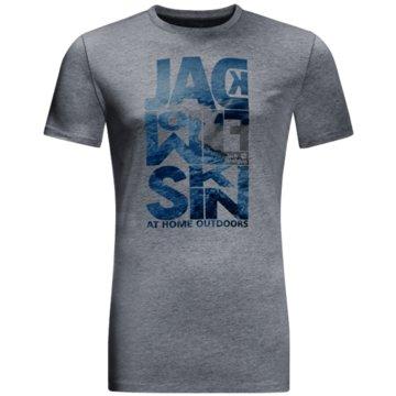 JACK WOLFSKIN T-Shirts grau