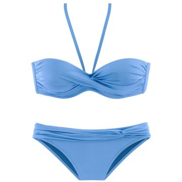 Lascana Bikini SetsBÜGEL-BANDEAUBIK C - 408833 blau
