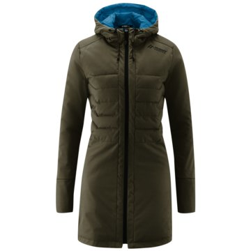 Maier Sports WinterjackenDAMEN SOFTSHELLMANTEL SKYLLAR - 260616 274 grün