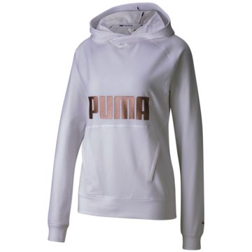 Puma PulloverHOODIE - 518959 004 weiß