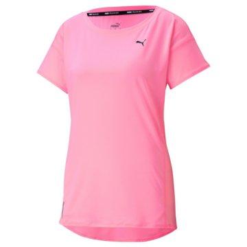 Puma T-ShirtsTRAIN FAVORITE TEE - 520258 rosa