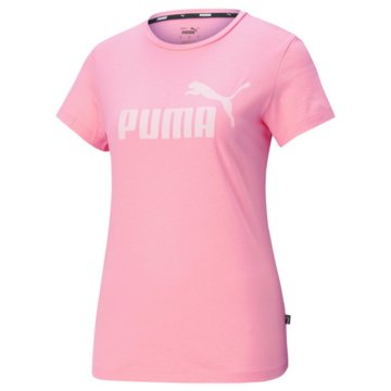 Puma T-ShirtsESS LOGO TEE S - 586775 rosa