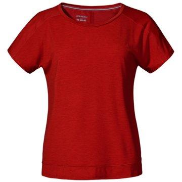 Schöffel T-Shirts rot