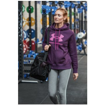 Under Armour HoodiesRIVAL FLEECE LOGO HOODIE - 1356318-501 lila