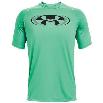 Under Armour ShirtsTECH 2.0 CIRCUIT SS - 1361699-342 grün