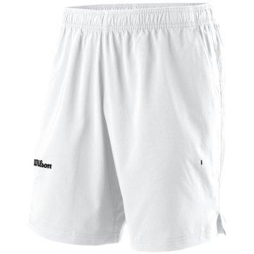 Wilson TennisshortsM TEAM II 8 SHORT WH 2XL - WRA794401 weiß