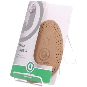 Tacco Footcare Sohlen- und FußbettLederhalbsohle -