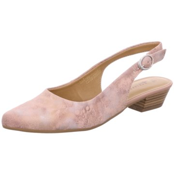 Tamaris Slingpumps rosa