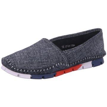 Lanqier Comfort Sportlicher Slipper blau