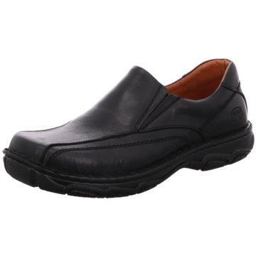 SoftWalk Komfort Slipper schwarz