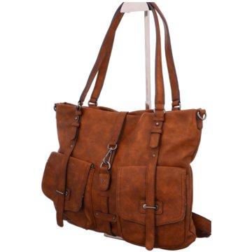 Tamaris Taschen DamenBernadette Shopping Bag braun