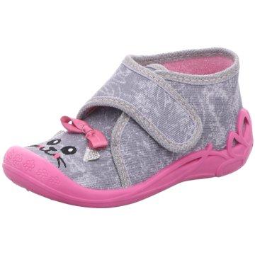 Fischer Schuhe Kleinkinder MädchenMäuschen grau
