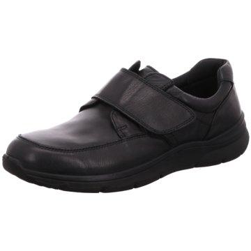 2 Steps Casual Komfort Slipper schwarz