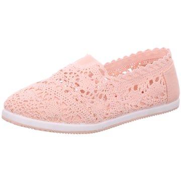 Shoeplanet Klassischer Slipper rosa