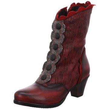 Simen Klassischer Stiefel rot