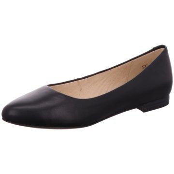 Caprice Klassischer Ballerina schwarz