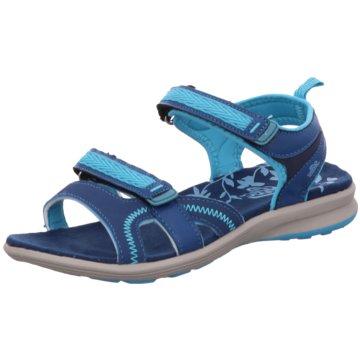 Geka Komfort Sandale blau