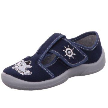 Fischer Schuhe HausschuhHaifisch blau