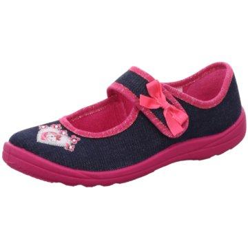 Fischer Schuhe HausschuhEinhorn blau