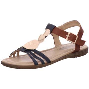 Tempora Sandale blau