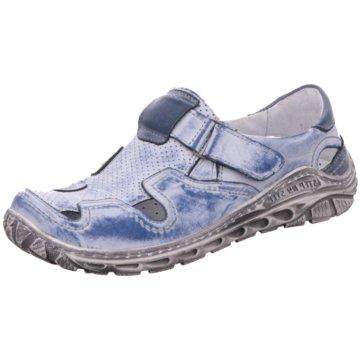 Kristofer Komfort Slipper blau