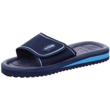Moza-X Offene Schuhe blau